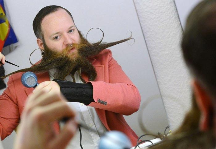 مسابقات جهانی ریش و سبیل در آلمان