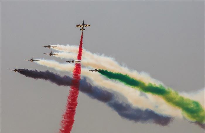گزارش تصویری از نمایـشگاه هوایـی 2013 در دبی