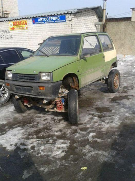 تصاویر جالب و خنده دار از روسیه