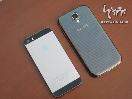 مقایسه iPhone 5s و Galaxy S4