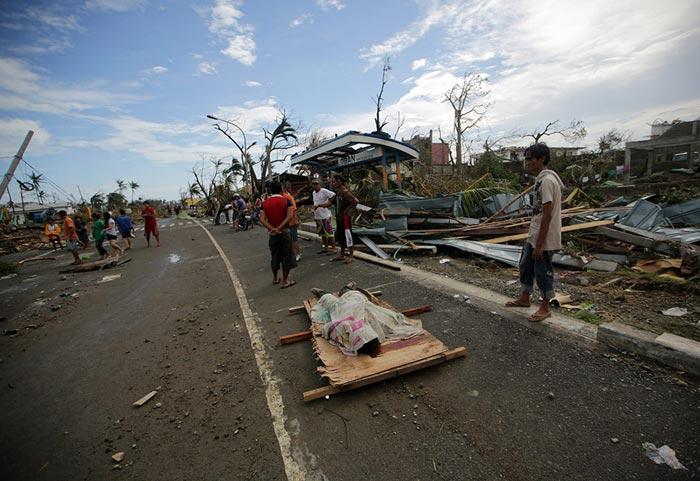 گزارش تصویری تـوفان مرگبـار در فیلیپـین