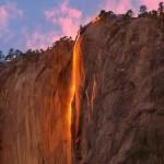سفری کوتاه به آبشار آتش کالیفرنیا