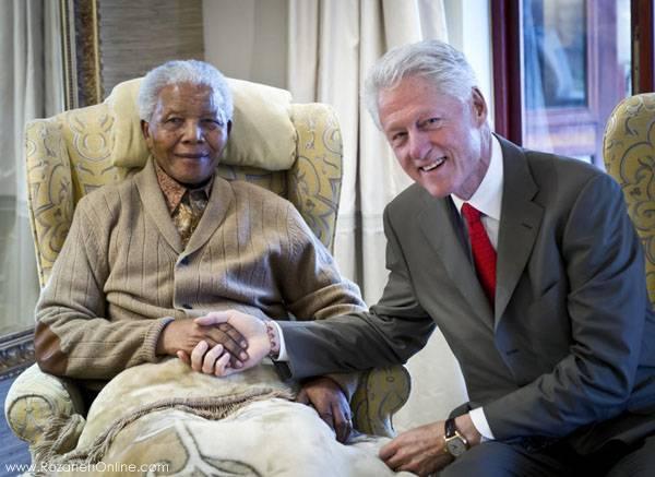 مرگ نلسون ماندلا قهرمان مبارزه با آپارتاید