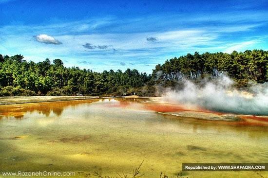 چشمههای آب گرم  معروف دنیا