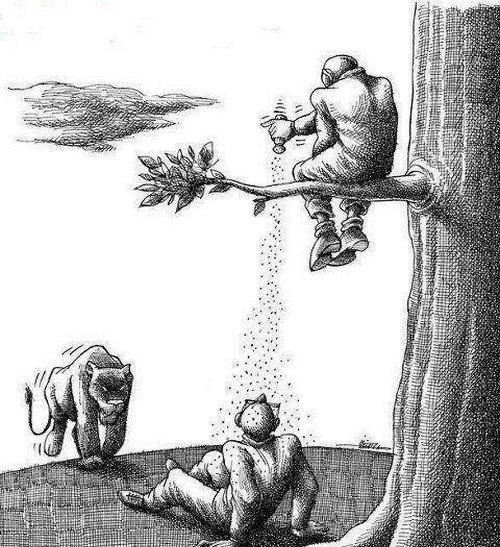 منتـخبی از کاریـکاتورهای اجتـماعی و مفهـومی