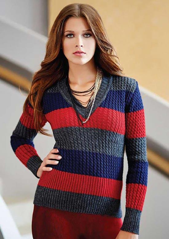 لباس های متنـوع و جدید بافتـنی برای خانم ها