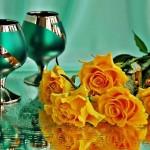 تزئینـات فانتـزی و فوق العاده زیبـا با گــل رز