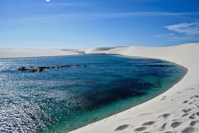 گشت و گذاری در صحرای سفید برزیل