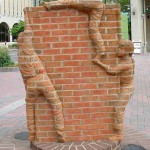 مجسمه های آجری