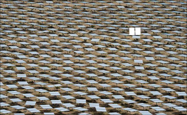 بزرگترین نیروگاه خورشیدی جهان