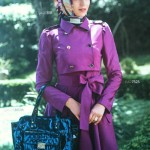 مجموعه ای از مانتـو های با حجاب زیبا و شیک
