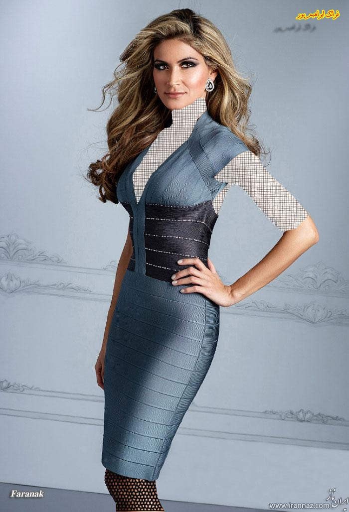 زیباترین و جدیدترین مدل های لباس عصر زنانه