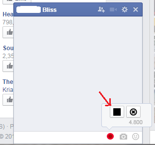 نحوه ارسال پیام صوتی در فیس بوک
