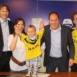 قراردادفوتبالیست 18 ماهه با یک باشگاه معروف