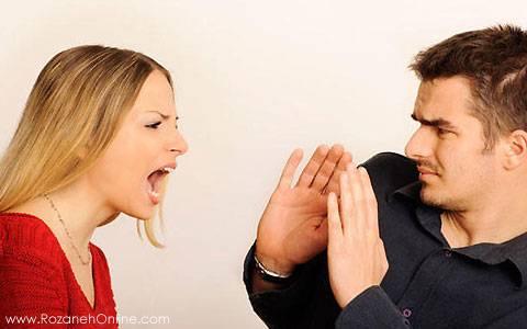 چگونگی کنترل خشم و رفتار با همسر پرخاشگر