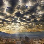 طلوع و غروب خورشید در شهرهای مختلف