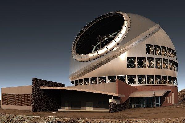 ساخت بزرگترین تلسکوپ جهان در آمریکا