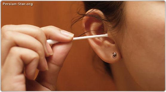 برای تمیز کردن گوش چیزی داخل آن نکنید