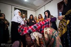آیین جشن عروسی در استان گلستان