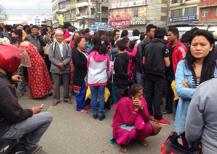 زمین لرزه نپال و تصاویر مربوط به آن