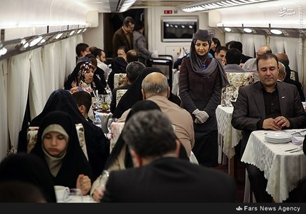 لوکس ترین قطار ایران