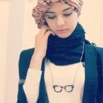 زیباترین و ساده ترین مدل های بستن روسری