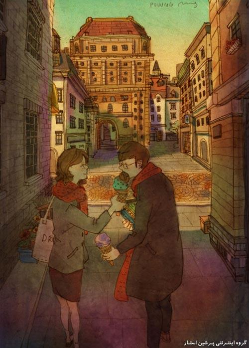 تصاویر ی زیبا و عاشقانه از روابط عاشقانه دو عاشق و دو همسر عاشق