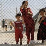 گزارشی تصویری از حضور آنجلیناجولی در کمپ آوارگان سوری