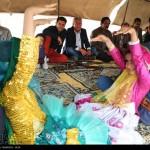 جشن عروسی بومی عشایر قشقایی به روایت تصاویر