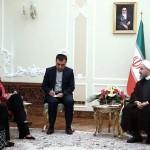 سفر فدریکا موگرینی به ایران