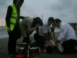 دریای مازندران و غرق شدن 4 نفر در آن