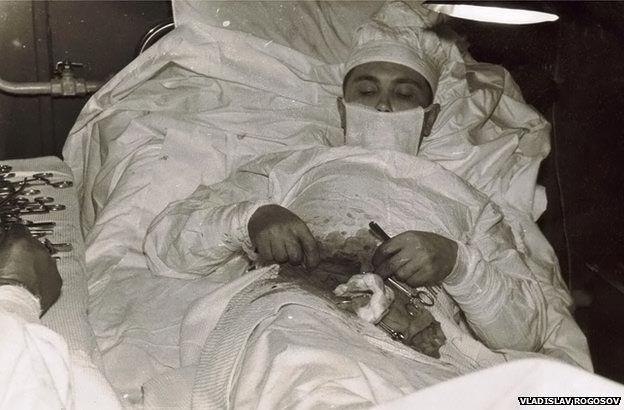 عمل جراحی تاریخی یک جراح روس