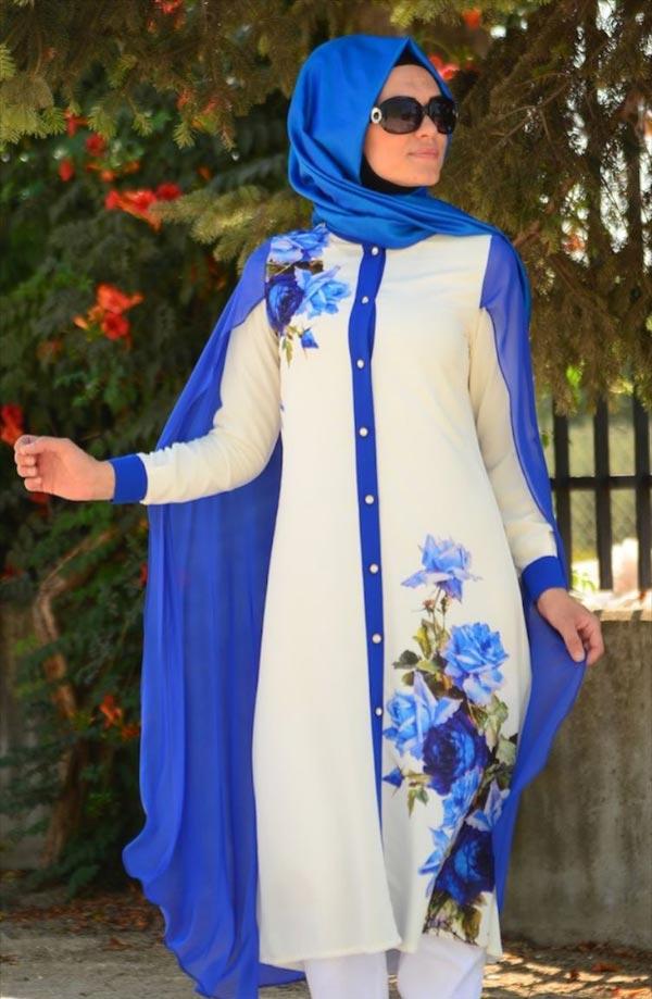 مانتو با حجاب با مدلهای متنوع و زیبا