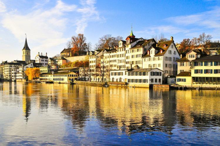 زوریخ (Zürich)، سوئیس- تمیزترین شهرهای دنیا