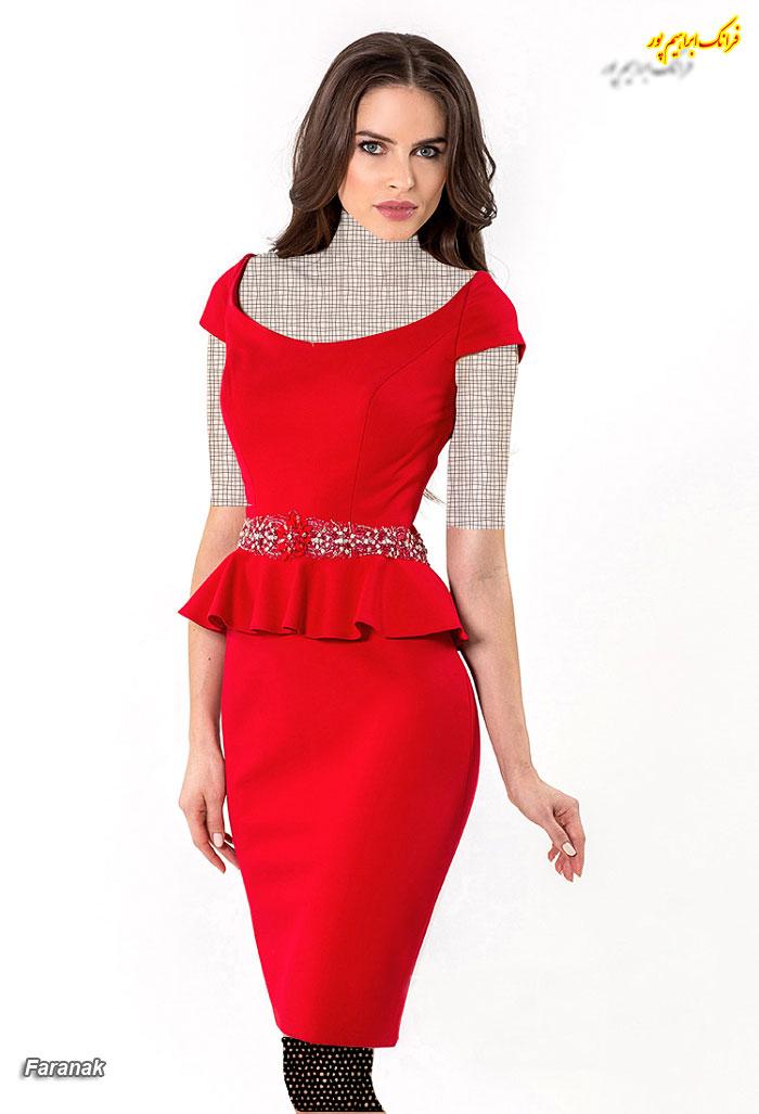 مدل های لباس عصر زنانه