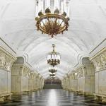 ایستگاه های مترو مسکو