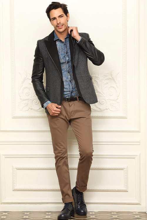 ژورنال مدل های لباس زمستانی مردانه