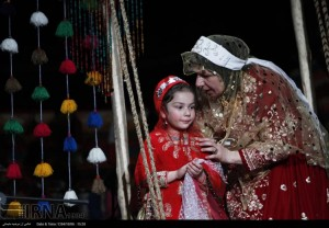 مراسم ازدواج سنتی عروس و داماد لُر به روایت تصویر