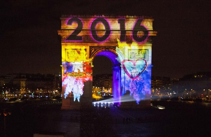 جشن های استقبال از سال نو میلادی
