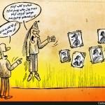 کاریکاتور هزینه تبلیغات انتخابات
