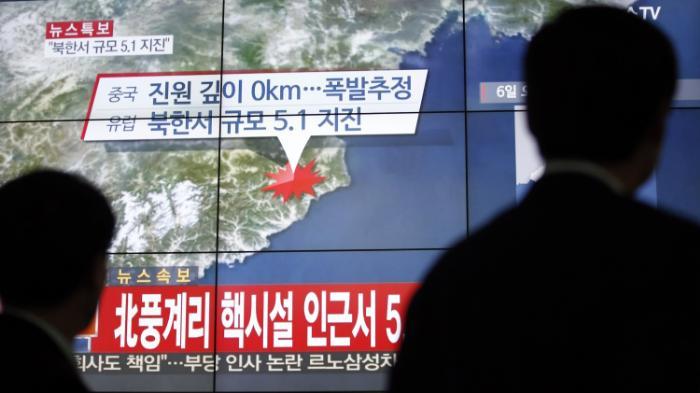 بمب هیدروژنی جدید ترین آزمایش کره شمالی