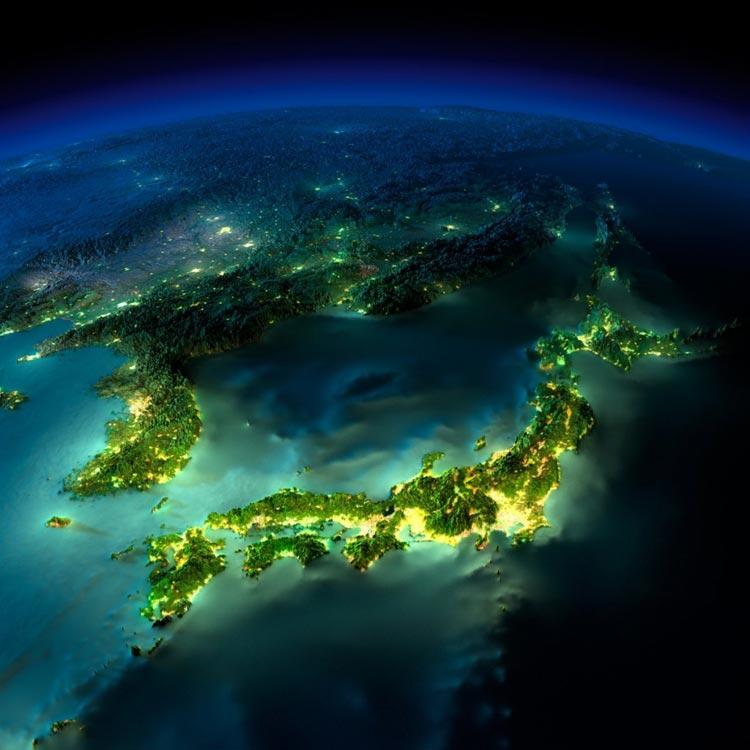تصاویر ماهواره ای زیبا از زمین