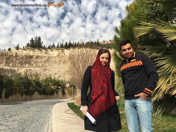یک عکس حرفه ای از کیمیا در شیراز!