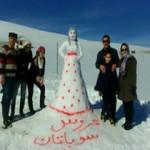 جشنواره آدم برفیها در سوباتان