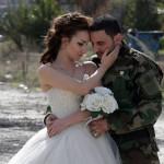 عکس های مراسم ازدواج یک زوج سوری