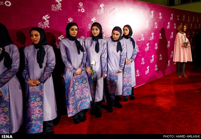 مراسم افتتاحیه جشنواره فجر ۳۴