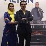 الیکا عبدالرزاقی و همسرش مدل تبلیغاتی شدند