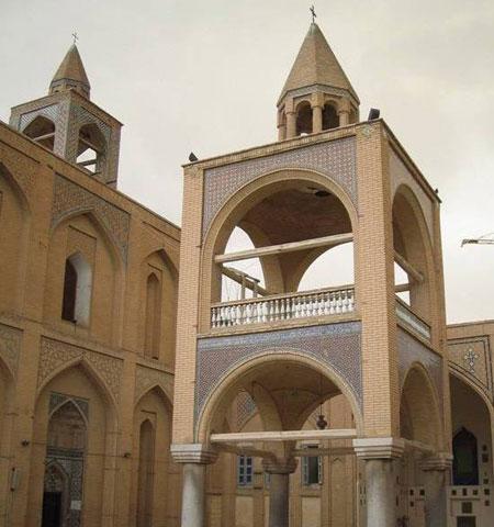 کلیسای وانک زیباترین کلیسای جلفای اصفهان