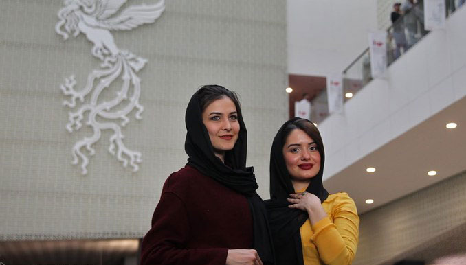 حجاب بازیگران خارجی در جشنواره جهانی فیلم فجر