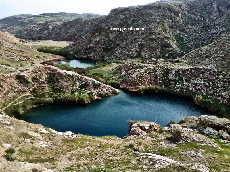 دریاچه سیاه گاو از جاذبههای طبیعی استان ایلام